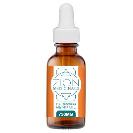 Zion Medicinals Full Spectrum Hemp Oil Review - Tom Seaman